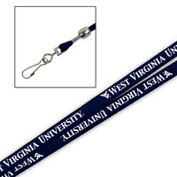 WVU Mountaineers Printed Lanyard
