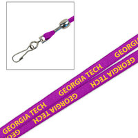 Georgia Tech Printed Lanyard