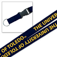 University of Toledo MCM Wov-In Lanyard