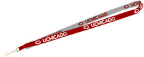 University of Chicago Inside Out Lanyard with J-Hook