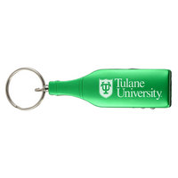 Bottle Shaped Wine Opener Key Tag