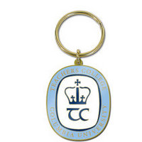 Columbia University Brass Keychain