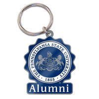 Penn State Nittany Lions Brass Keychain