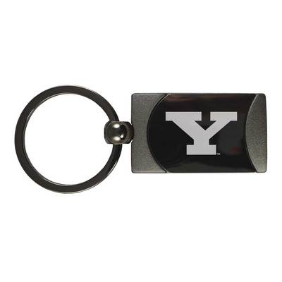 Square Two Toned Key Tag