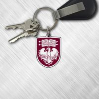 Color Shock Acrylic Key Tags