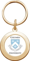 Columbia University Round Keychain