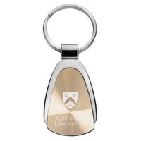 Columbia University Tear Drop Key Tag