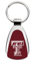 Texas Tech Red Raiders Tear Drop Key Tag