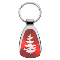 Rutgers Scarlet Knights Tear Drop Key Tag