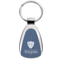 University of Toledo Tear Drop Key Tag