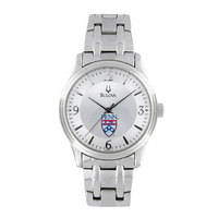 Womens Silver Stainless Steel Bracelet Watch