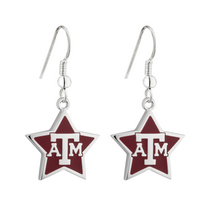 Star T A & M Earrings