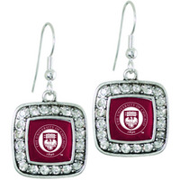 Handcrafted square earrings