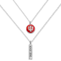 Double Layer Logo Necklace