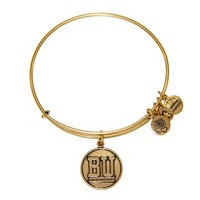 Alex and Ani Boston University Logo  Bracelet