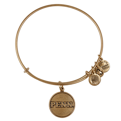 Alex and Ani University of Pennsylvania Logo  Bracelet