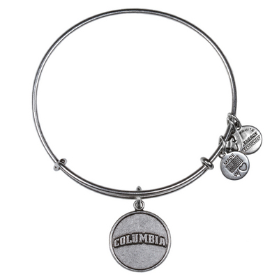 Alex and Ani Columbia University Logo  Bracelet