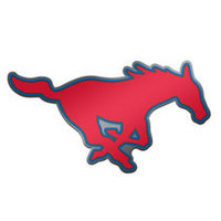 SMU Mustangs Brass Lapel Pin