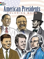 American Presidents, Coloring Book