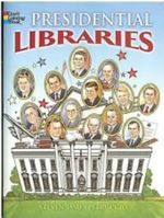 Presidential Libraries Coloring Book