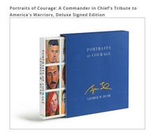 Portraits of Courage Deluxe Signed & Personalized Edition, Pre purchase