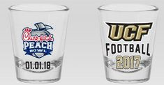 ChickfilA Peach Bowl UCF Football 2018 Shot Glass