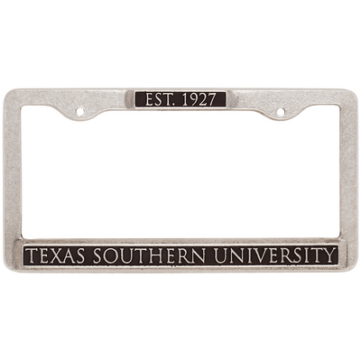 Texas Southern University Bookstore License Plate Frame