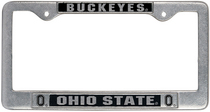 Ohio State Buckeyes License Plate Frame