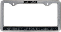 South Carolina Gamecocks Alumni License Plate Frame