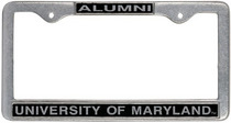 University of Maryland Alumni License Plate Frame