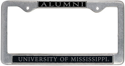 The Ole Miss Bookstore Ole Miss Alumni License Plate Frame
