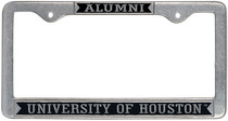 Houston Cougars Alumni License Plate Frame