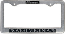 WVU Mountaineers Alumni License Plate Frame