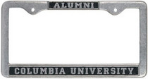 Columbia University Alumni License Plate Frame
