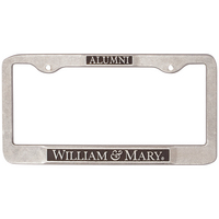 William and Mary Alumni License Plate Frame