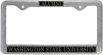 Washington State Cougars Alumni License Plate Frame