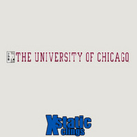 University of Chicago Static Cling Decal
