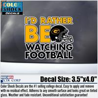 Grambling State Tigers Football Decal