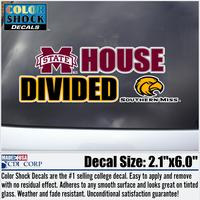 Mississippi State Bulldogs CDI Football Decal