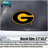 Grambling State Tigers Color Shock Mascot Decal