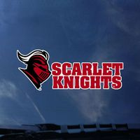 Rutgers Scarlet Knights Color Shock Mascot Decal
