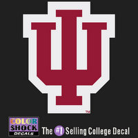 Indiana Hoosiers Color Shock Mascot Decal
