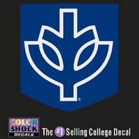 DePaul Color Shock Seal Decal