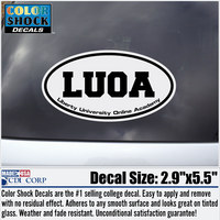 Color Shock Liberty Online Academy Seal Decal