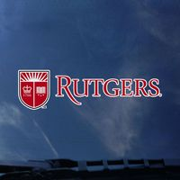 Rutgers Scarlet Knights Color Shock Seal Decal