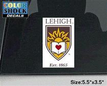 Lehigh Color Shock Seal Decal