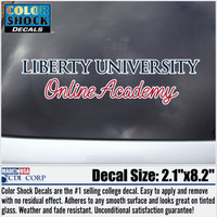 Color Shock Liberty Online Academy Decal