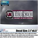 South Carolina Gamecocks Color Shock School Name Decal