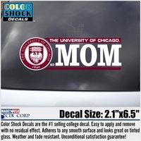 University of Chicago Colorshock Decal