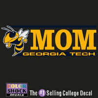 Georgia Tech Colorshock Decal